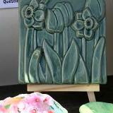 Floral Tile by Marguerite Goff